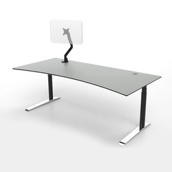 Flow | Individual desks | Cube Design