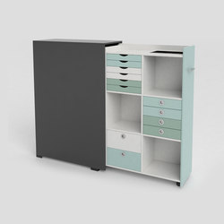 Quadro pull-out cabinet | Archivadores | Cube Design