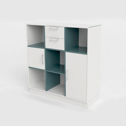 V Bookcase | Archivadores | Cube Design