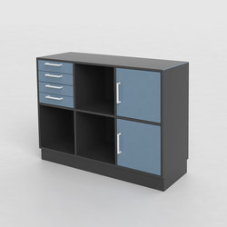 V Bookcase | Shelving | Cube Design