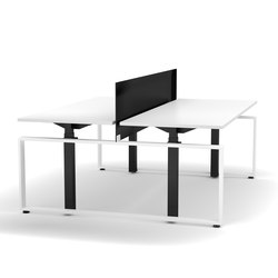 Electrically height-adjustable team desk Masterlift® | Tavoli contract | Inwerk