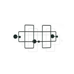 Bazar Wall-mounted rack, medium | Coat racks | Richard Lampert