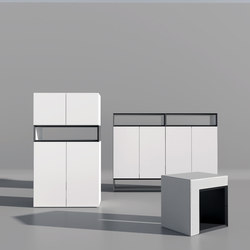 Masterbox® Design Sideboard swing doors | Sideboards | Inwerk