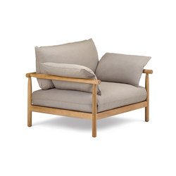 Tibbo Lounge Chair XL | Armchairs | DEDON