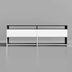 Masterbox® Design Sideboard with flap | Shelving | Inwerk