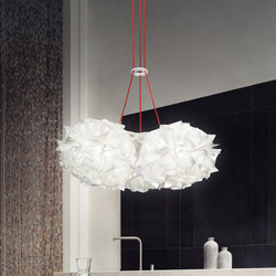Veli Mini Trio Couture | Suspended lights | Slamp