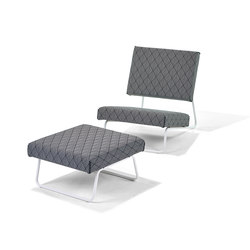Lounge Chair Outdoor | Sillones de jardín | Richard Lampert