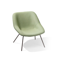 H 55 chair | Poltrone lounge | Richard Lampert