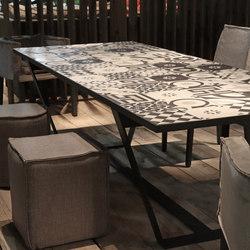 Baker Island Table | Tables à manger de jardin | Villevenete