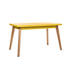 55 table Oak legs - 130 | Mesas de cantinas | Tolix