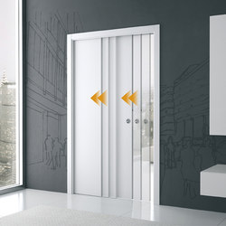 Telescopic syncronisation | Internal doors | Eclisse