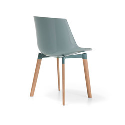 Flow Color | Visitors chairs / Side chairs | MDF Italia