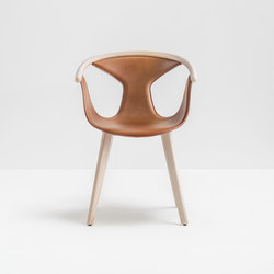 Fox armchair | Visitors chairs / Side chairs | PEDRALI
