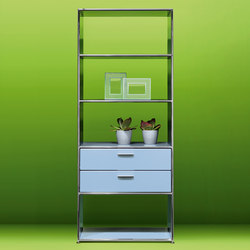 Regal MLQE-358 | Office shelving systems | Bosse