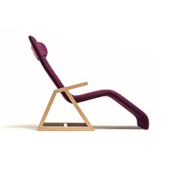 Easy Recliner Beech | Chaise longue | Lina Design