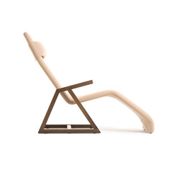Easy Recliner American Walnut | Chaise longues | Lina Design