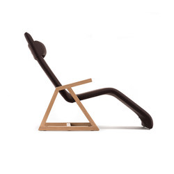 Easy Recliner Oak | Chaise longue | Lina Design
