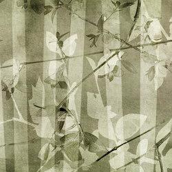 pois & strip | leaves | Wall art / Murals | N.O.W. Edizioni