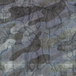 military | floral camouflage | Wall art / Murals | N.O.W. Edizioni