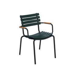 CLIPS | Dining chair with bamboo armrests | Chairs | HOUE