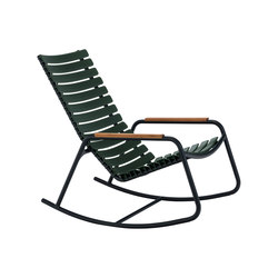 CLIPS | Rocking chair with bamboo armrests | Sessel | HOUE