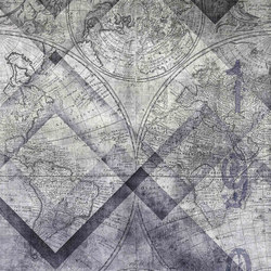 geometric | geomap | Wandbilder / Kunst | N.O.W. Edizioni