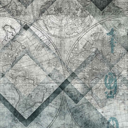 geometric | geomap | Wall art / Murals | N.O.W. Edizioni
