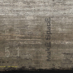 concrete | plain | Wall art / Murals | N.O.W. Edizioni