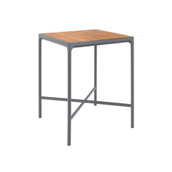 FOUR | Bar table 90x90 Grey frame | Standing tables | HOUE
