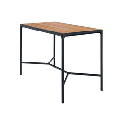 FOUR | Bar table 90x160 Black frame | Tavoli alti | HOUE