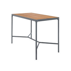 FOUR | Bar table 90x160 Grey frame | Tavoli alti | HOUE