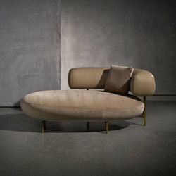 ELLA longchair | Chaise longues | Piet Boon