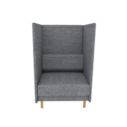 Private High Back 1 Seater | Lounge chairs | ICONS OF DENMARK