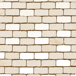 Dune Mosaics | Mosaico Cremabella 2,2x4,8 | Piastrelle ceramica | Dune Cerámica