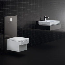 Cube Ceramic Wall hung WC | Toilets | GROHE