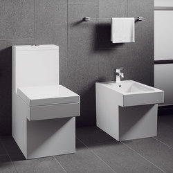 Cube Ceramic Floor standing back to wall WC | Toilets | GROHE