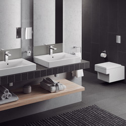 Cube Ceramic Counter top basin 100 | Wash basins | GROHE