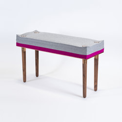 Felt Series Bench | Bancos | STACKLAB