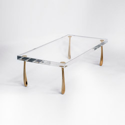 Jupiter Low Table - Acrylic | Mesas de centro | STACKLAB