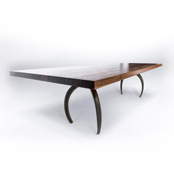 Wishbone Series Dining - Hardwood | Dining tables | STACKLAB