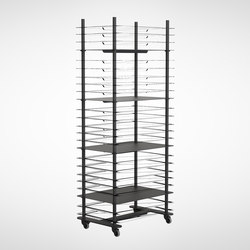 Bukto Shelf stand 6060 | Office shelving systems | Frost