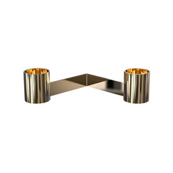 Living Accessories Candleholder 2004 | Bougeoirs | Frost
