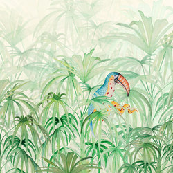 Touke-touke jungle | Wall coverings / wallpapers | WallPepper