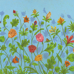 Growing bliss | Wall coverings / wallpapers | WallPepper