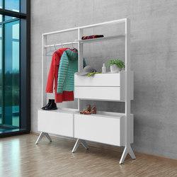 SCALA wardrobe | Estantería | Müller Möbelfabrikation