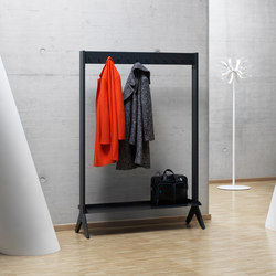 SCALA shelving system | Coat racks | Müller Möbelfabrikation