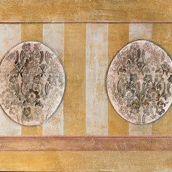 Tappezzeria dipinta ritrovata | Carta da parati / carta da parati | WallPepper