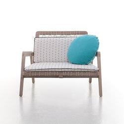 InOut 862 | Garden armchairs | Gervasoni