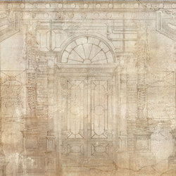 Mechanical Colums | Wall coverings / wallpapers | WallPepper