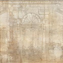 Mechanical columns | Wall coverings / wallpapers | WallPepper